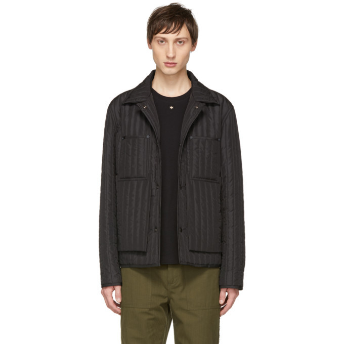 Photo: Craig Green Black Quilted Worker Jacket