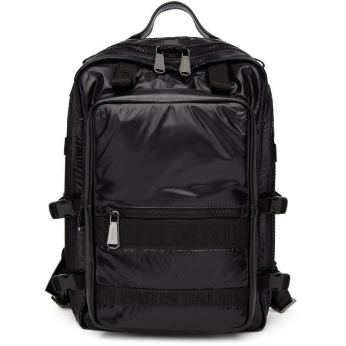 Photo: Balmain Black Finn Backpack