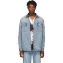 Ksubi Blue Denim Anti Shirt Skream Jacket