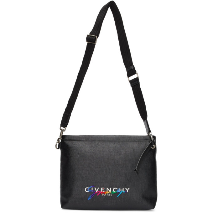 Photo: Givenchy Black Signature Crossbody Bag