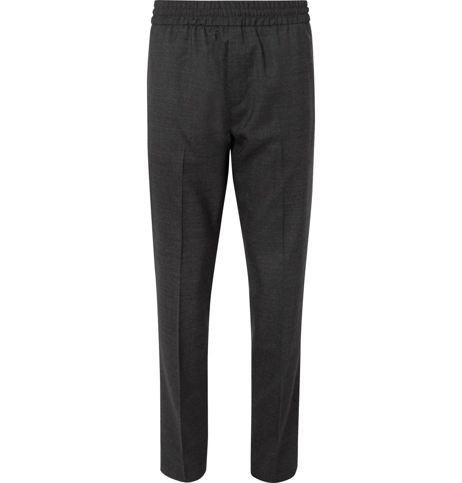 Acne Studios - Dark-Grey Ryder Wool Trousers - Gray