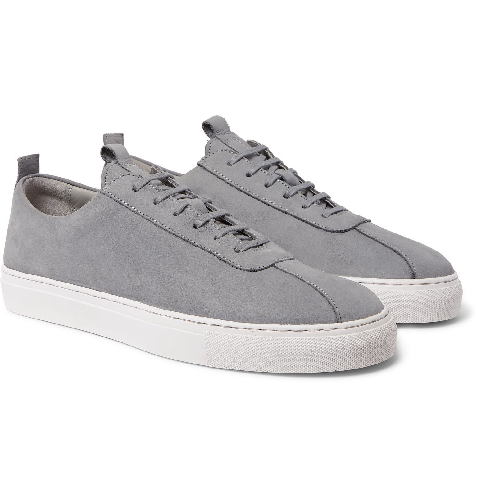 Photo: Grenson - Nubuck Sneakers - Gray