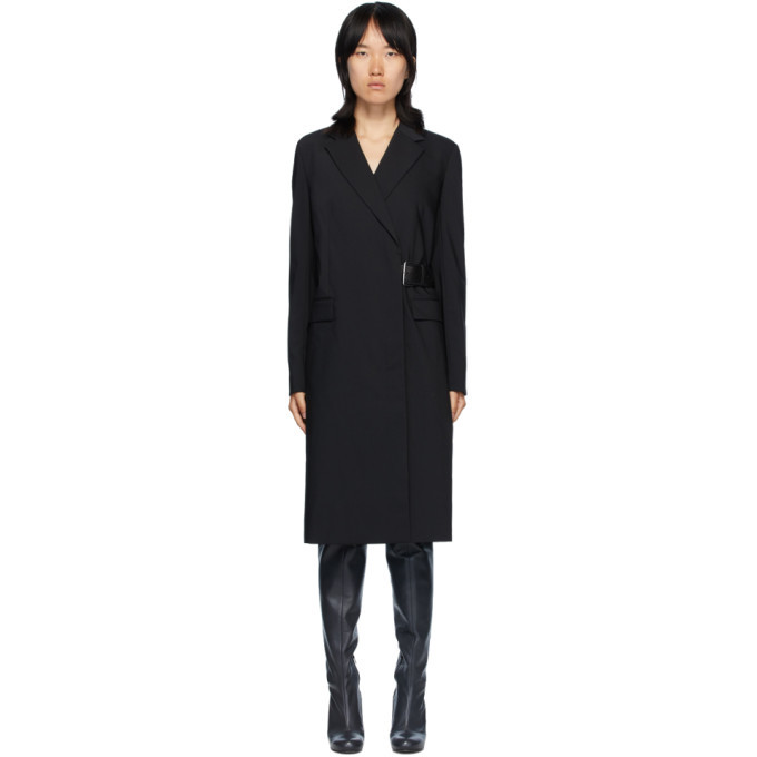 Photo: Helmut Lang Black Belted Coat