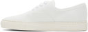 Common Projects White Four-Hole Low Sneakers