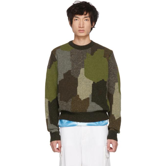 Photo: Stella McCartney Multicolor Military Sweater
