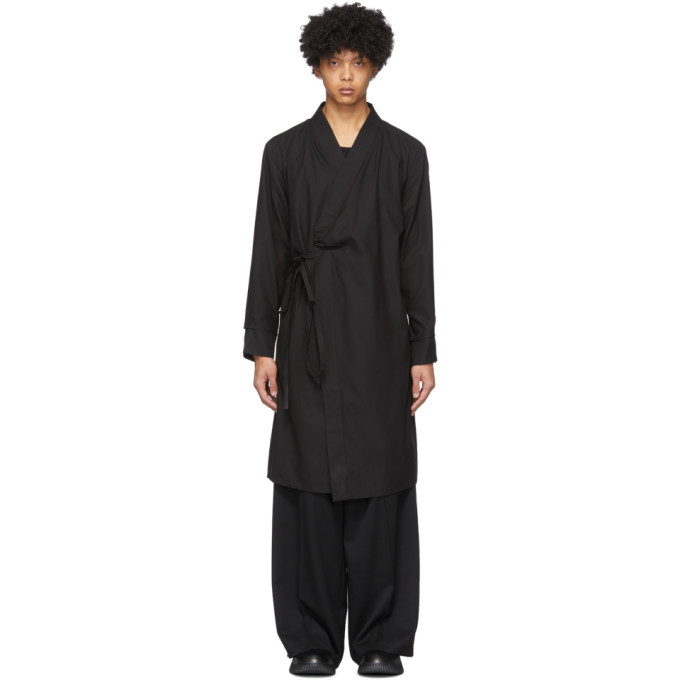 Photo: Ambush Black Kimono Dress