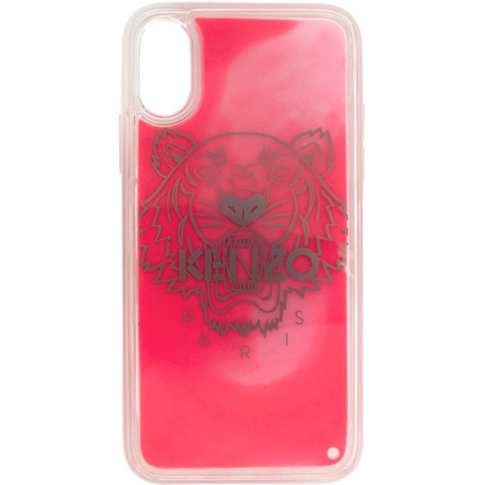 Photo: Kenzo Pink Glow-In-The-Dark iPhone X/XS Case