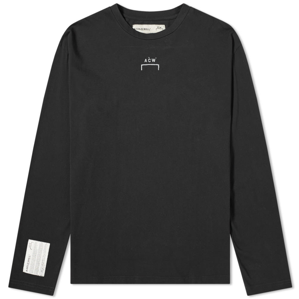Photo: A-COLD-WALL* Long Sleeve Logo Tee