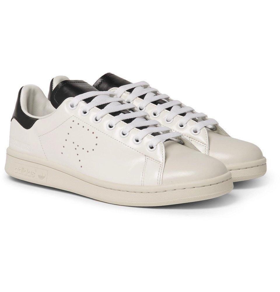 Raf Simons - adidas Stan Smith Leather Sneakers - White