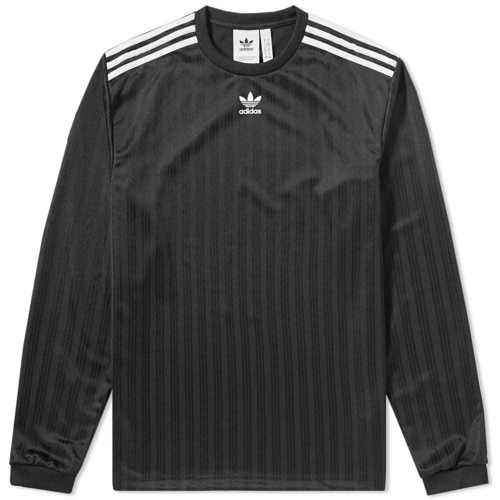 Adidas Long Sleeve Jersey Tee Black