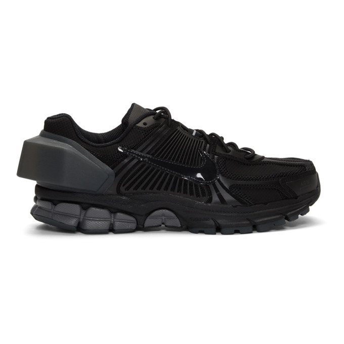 Photo: Nike Black A-Cold-Wall* Edition Zoom Vomero and5 Sneakers
