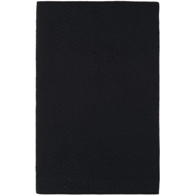 Photo: ByBorre Navy Makers Unite Edition Wool 3D Blanket