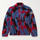 ARIES - Piped Printed Fleece Jacket - Multi