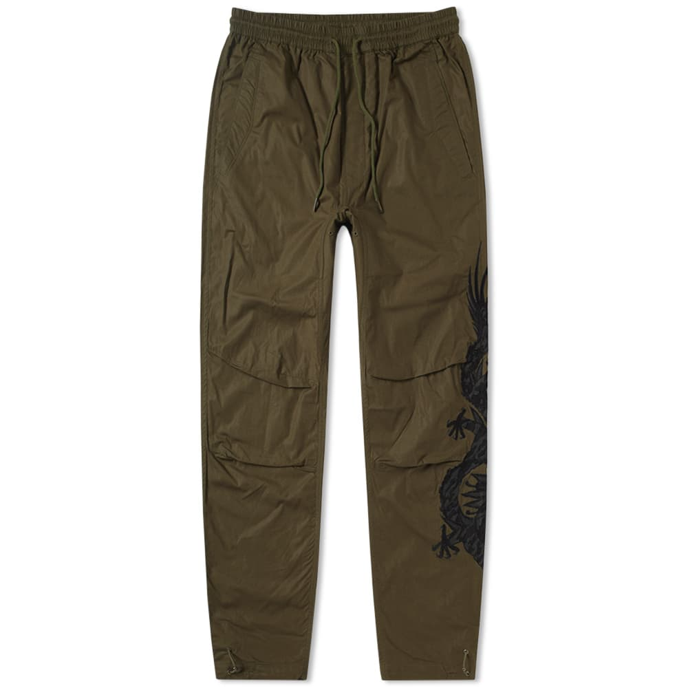 Photo: Maharishi Black Dragon Woven Pant