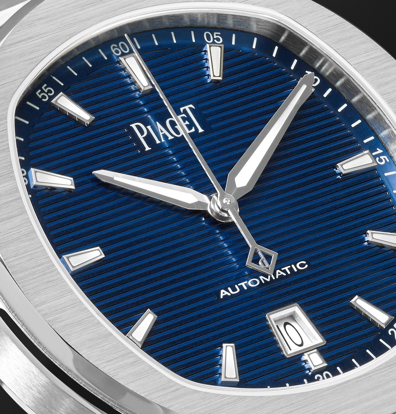 Piaget - Polo S Automatic 42mm Stainless Steel Watch, Ref. No. G0A41002 - Blue