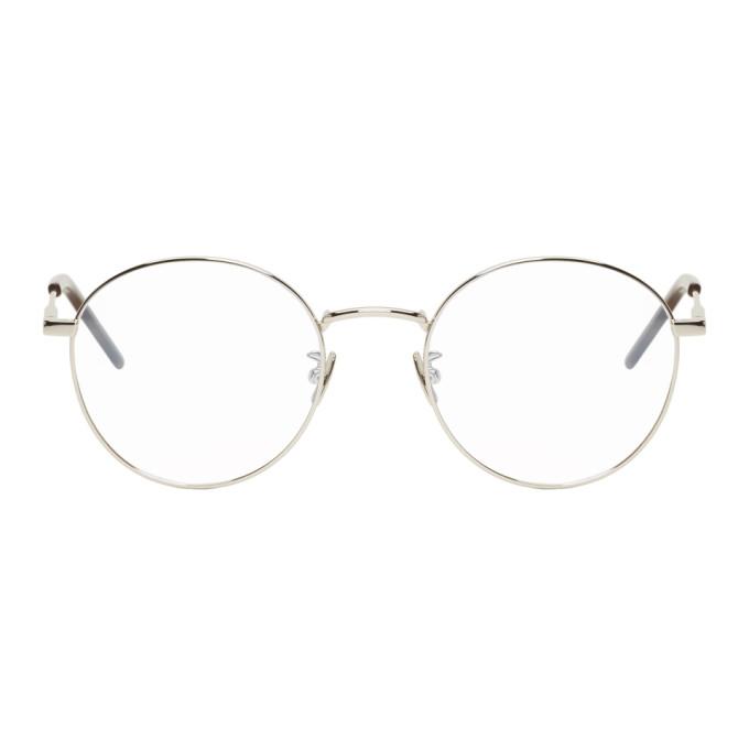 Photo: Saint Laurent Silver SL 237 Glasses