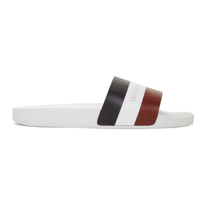 Photo: Moncler Multicolor Basile Slides