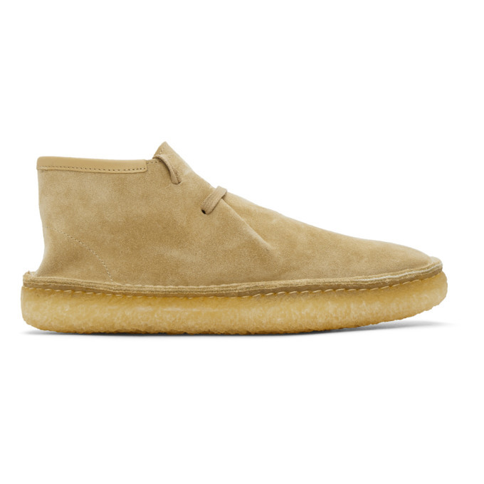 Photo: Lemaire Beige Laced Desert Boots