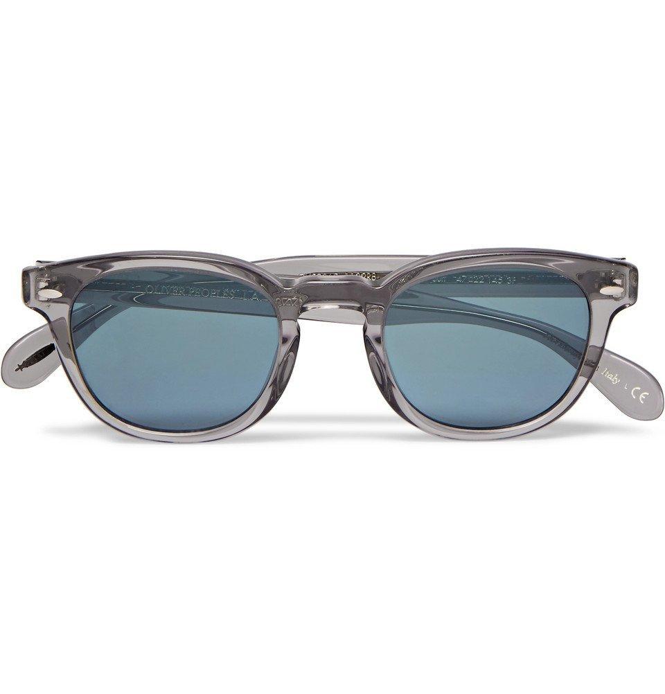 Oliver Peoples - Sheldrake D-Frame Acetate Sunglasses - Men - Gray