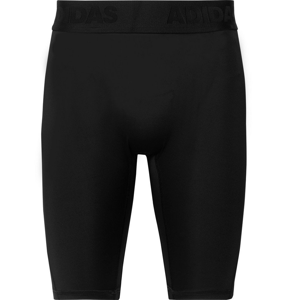 Photo: Adidas Sport - Alphaskin Climacool Compression Shorts - Black