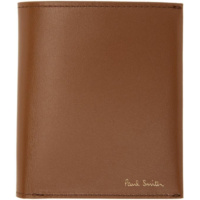 Photo: Paul Smith Tan Compact Credit Card Wallet