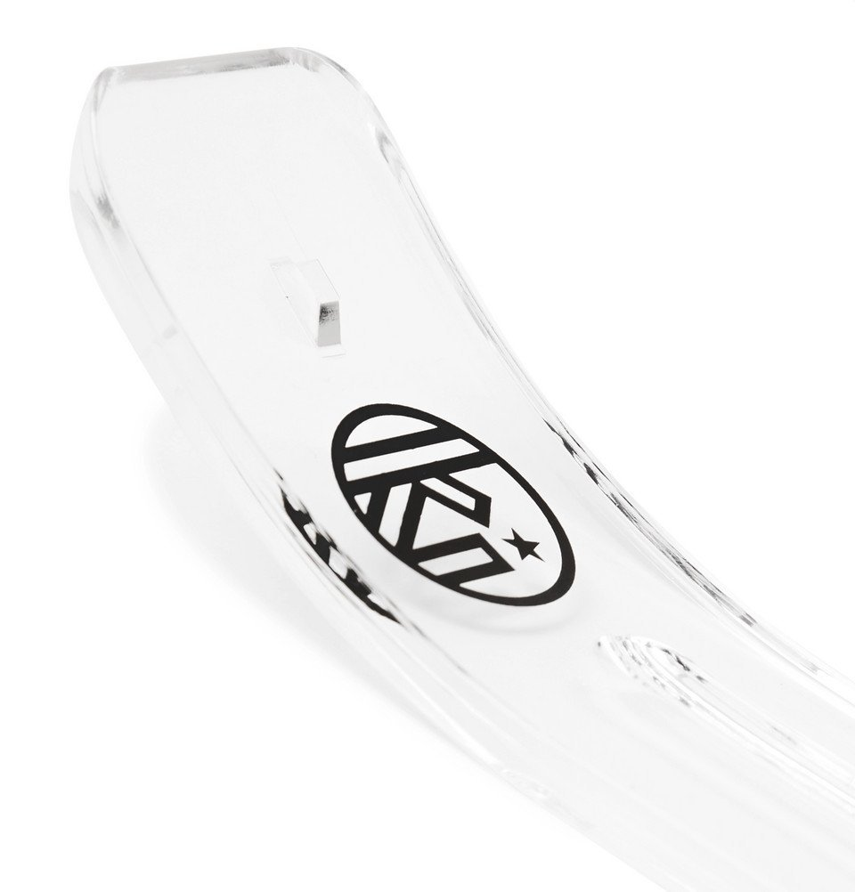 Photo: Wacko Maria - Kuumba Logo-Print Acrylic Incense Holder - White