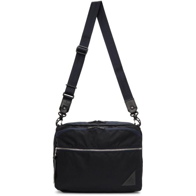 Photo: Master-Piece Co Navy Various Messenger Bag