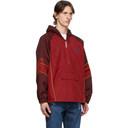 Martine Rose Red Windbreaker Jacket