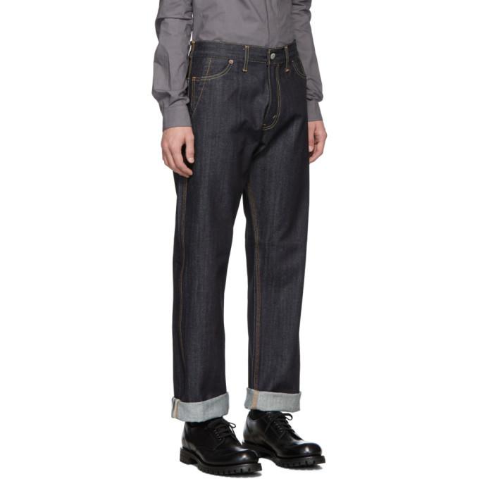 Junya Watanabe Indigo Levis Edition 503 Customized Jeans
