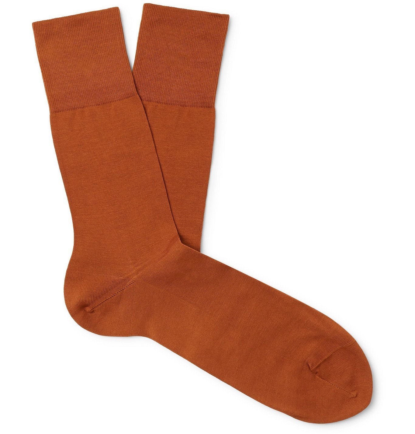 Photo: FALKE - Tiago City Cotton-Blend Socks - Orange