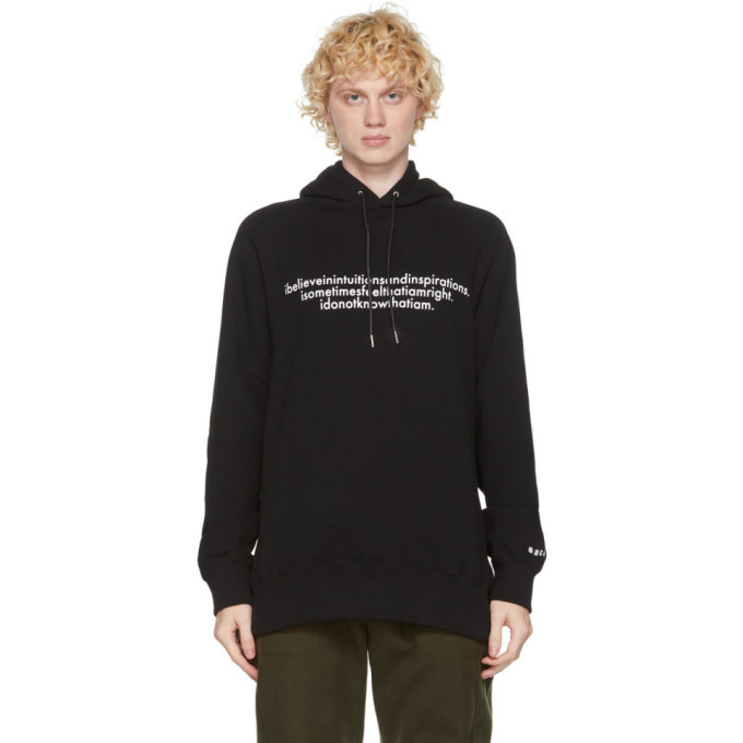 Photo: Sacai Black Einstein Hoodie
