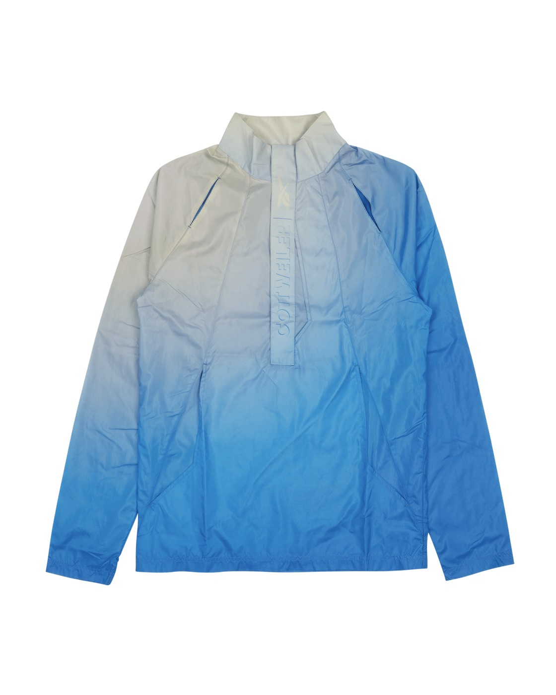 Photo: Reebok Cottweiler 1/2 Zip Jacket Blue Blast