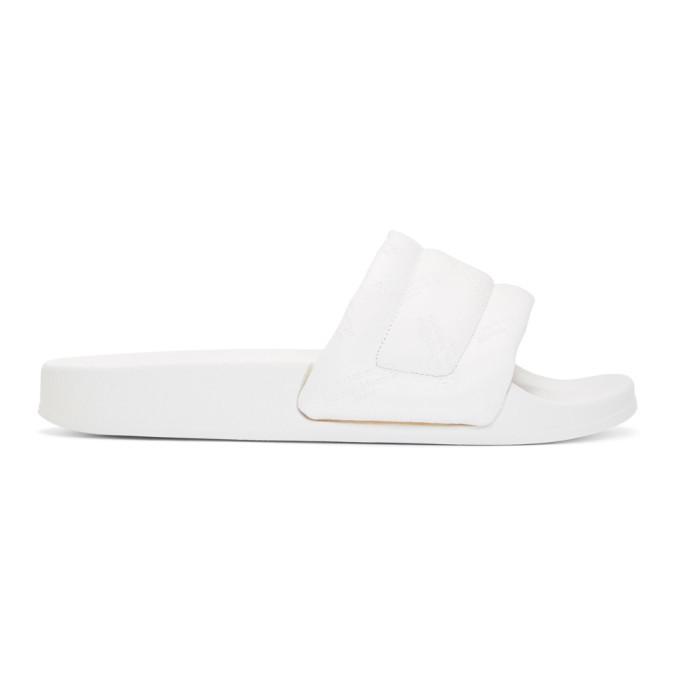 Photo: Maison Margiela White Leather Future Slides