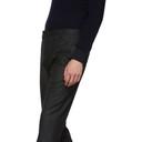 Giorgio Armani Black Virgin Melange Trousers