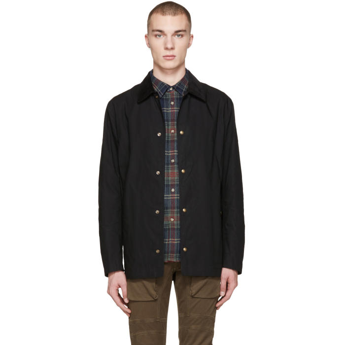 Photo: Belstaff Black Lydden Jacket