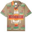 Sacai - Hank Willis Thomas Camp-Collar Printed Woven Shirt - Neutrals