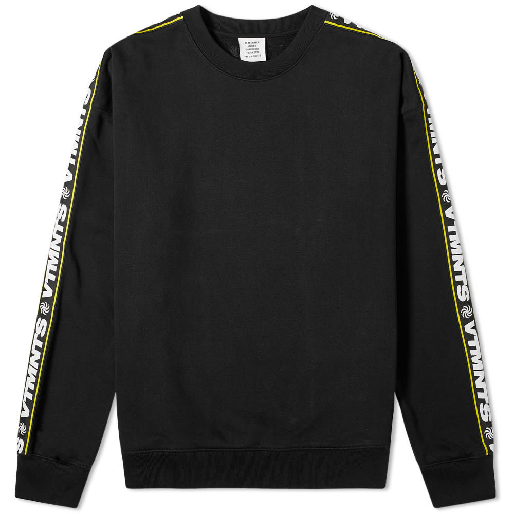 Photo: VETEMENTS Taped Crew Sweat