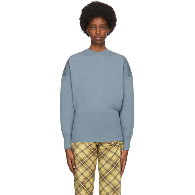 Photo: Acne Studios Blue Wool Sweater