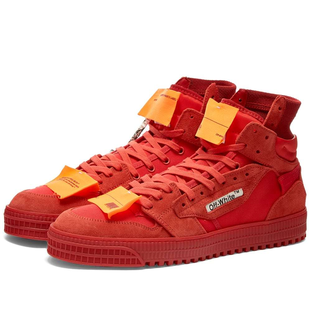 Photo: Off-White Off Court Hi Sneaker