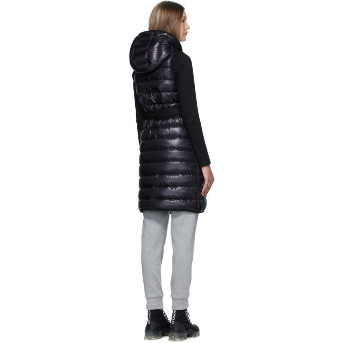 Moncler Black Noisette Vest