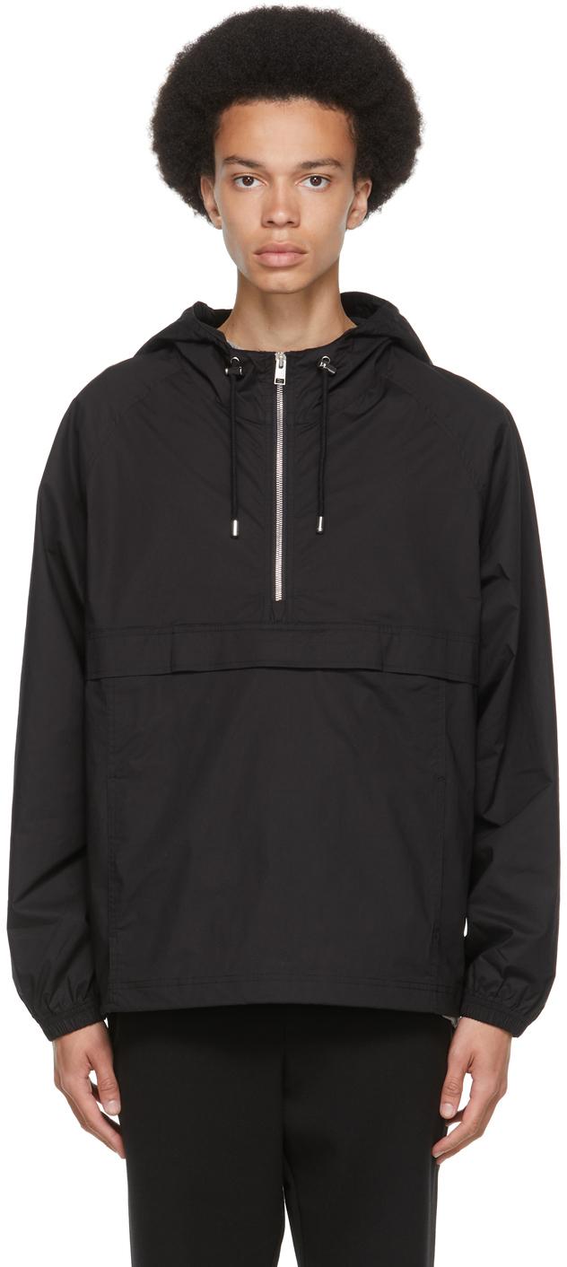 Photo: Frame Black Quarter Zip Jacket