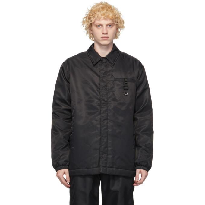 1017 ALYX 9SM Black Insulated Jacket