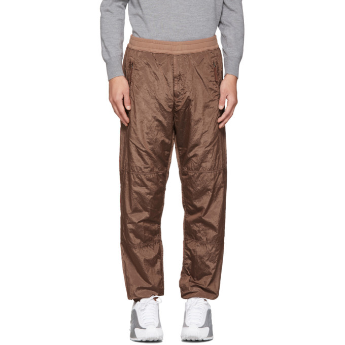 Photo: Stone Island Tan Ripstop Track Pants