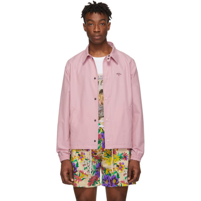 Photo: Noah NYC Pink Campus Jacket