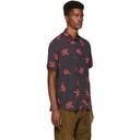 Ksubi Black Neon Snake Shirt