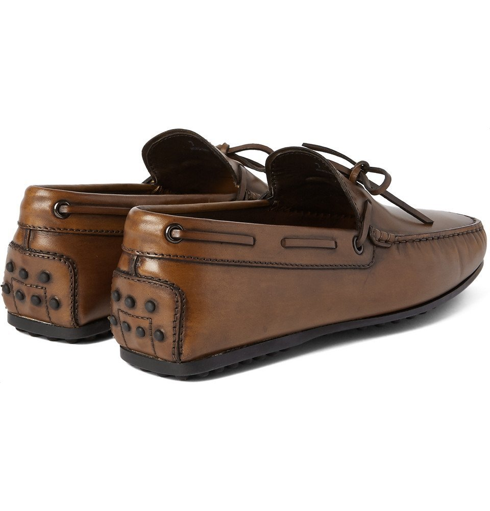 Tod's - Gommino Leather Loafers - Men - Brown