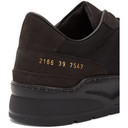 Common Projects Black New Track Sneakers