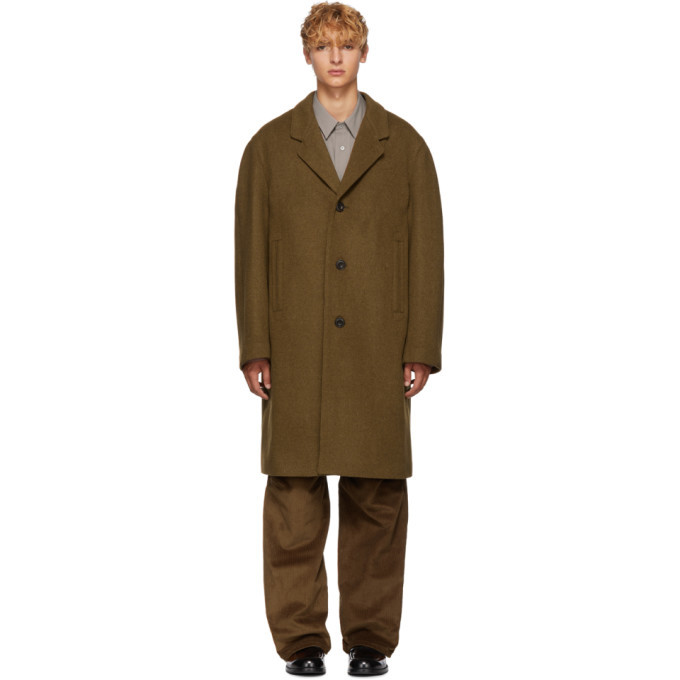 Photo: Lemaire Tan Chesterfield Coat