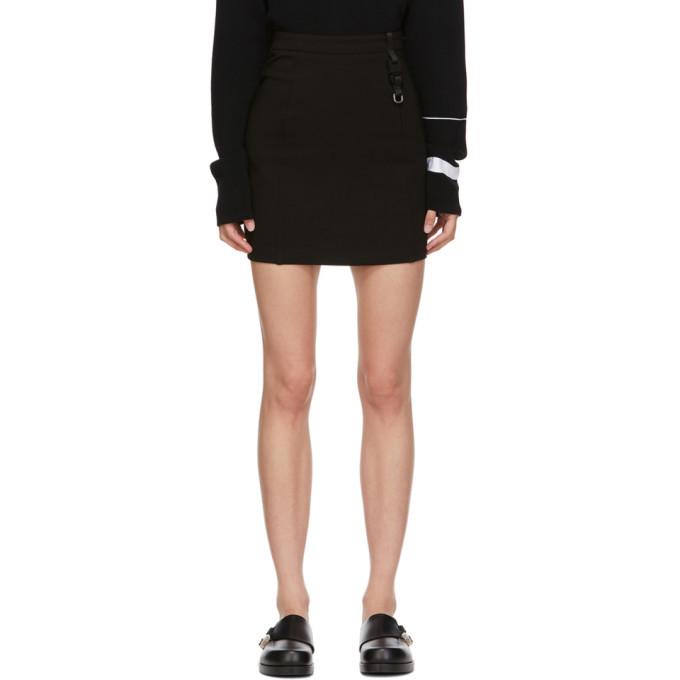 Photo: 1017 ALYX 9SM Black Buckle Miniskirt