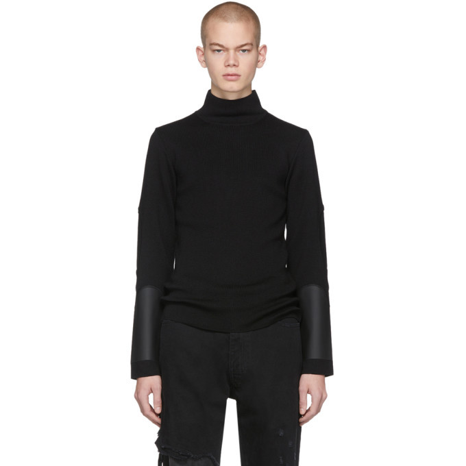 1017 ALYX 9SM Black Outside Seam Turtleneck